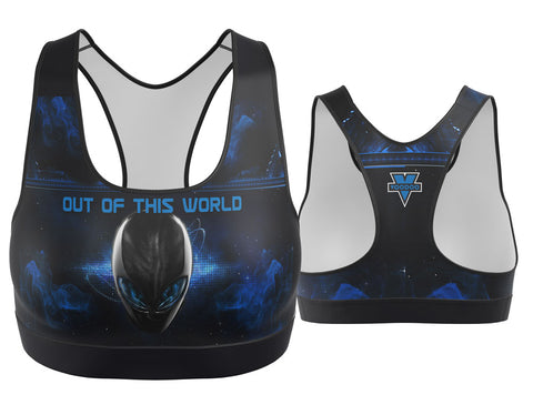 Out of This World Alien Sports Bra