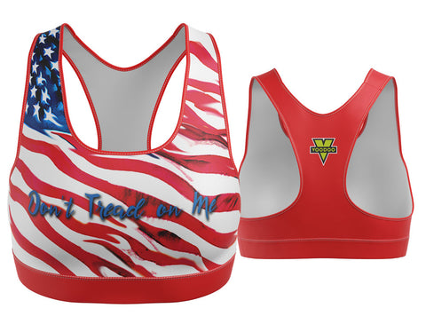 Don't Tread on Me USA Sports Bra
