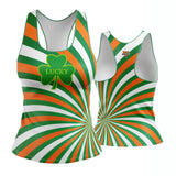 St. Patrick's Day Lucky Charm Racerback