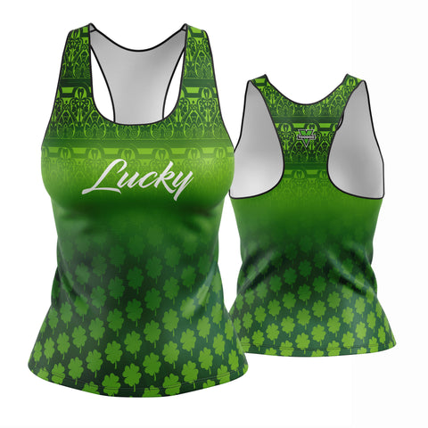 St. Patrick's Day Lucky Day Racerback