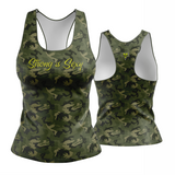 MILITARY STRONG IS SEXY Racerback