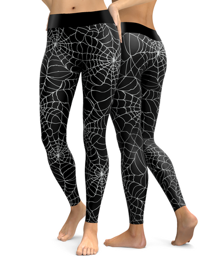 Spider Web Leggings (dark)