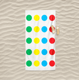 Polka Dots Beach Towel
