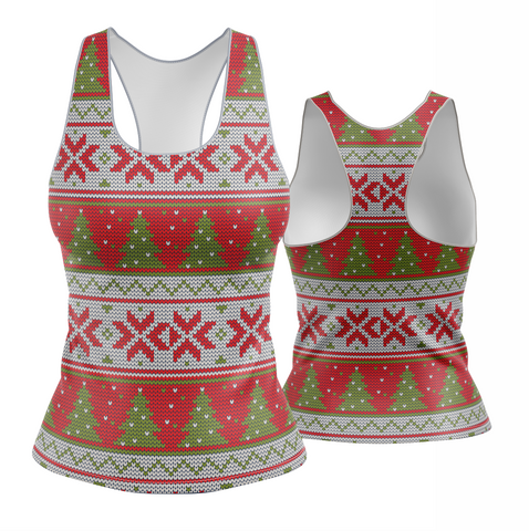 Christmas Tree Snowflake Ugly Sweater