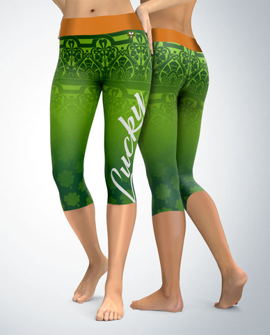 St. Patrick's Day Lucky Day Capris