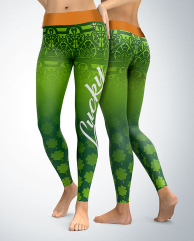 St. Patrick's Day Lucky Day Leggings