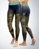 City Buildings Leggings