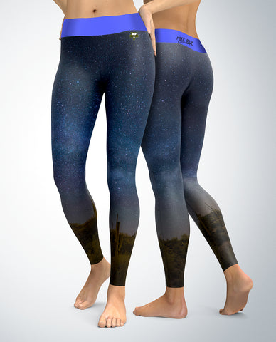 Desert Night Sky Leggings