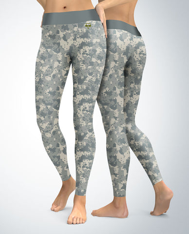 Military Digital Camouflage Leggings