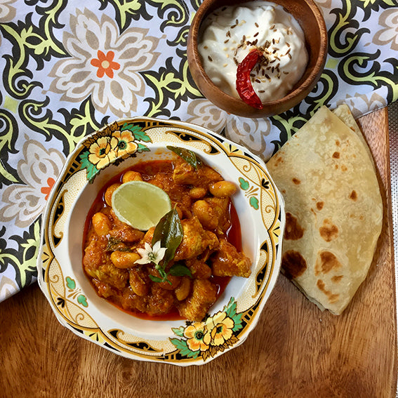Mild Fordsburg Style Chicken & Butterbean Curry