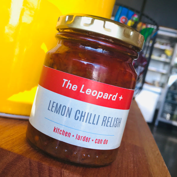 Leopard Lemon, Chilli & Cumin Relish (125ml)