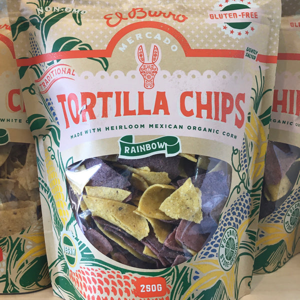 El Burro Rainbow Tortilla Chips (250g)