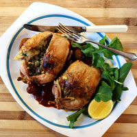 Peri-peri Quail with Cashew, Breadcrumb & Herb Stuffing