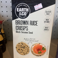 Earth & Co. Gluten Free Rice Crackers
