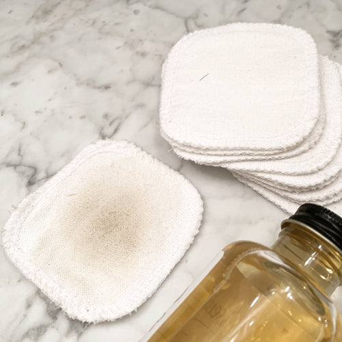 Zero Waste Reusable Cotton Facial Rounds