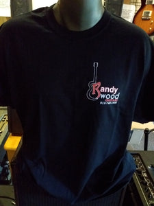 OFFICIAL RANDY WOOD GUITARS T-SHIRT!