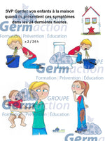 Affiches exclusion gastro parent