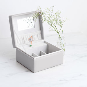Musical Jewellery Box in Grey (Pre Order) | Meminio Memory Cases