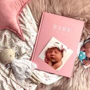 Baby Record Journal Birth To Five Years | Meminio Memory Cases