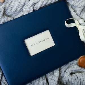 Memories Folder in Navy Blue | Meminio Memory Cases