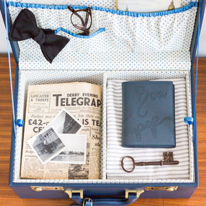 Memory Case in Navy ex display | Meminio Memory Cases