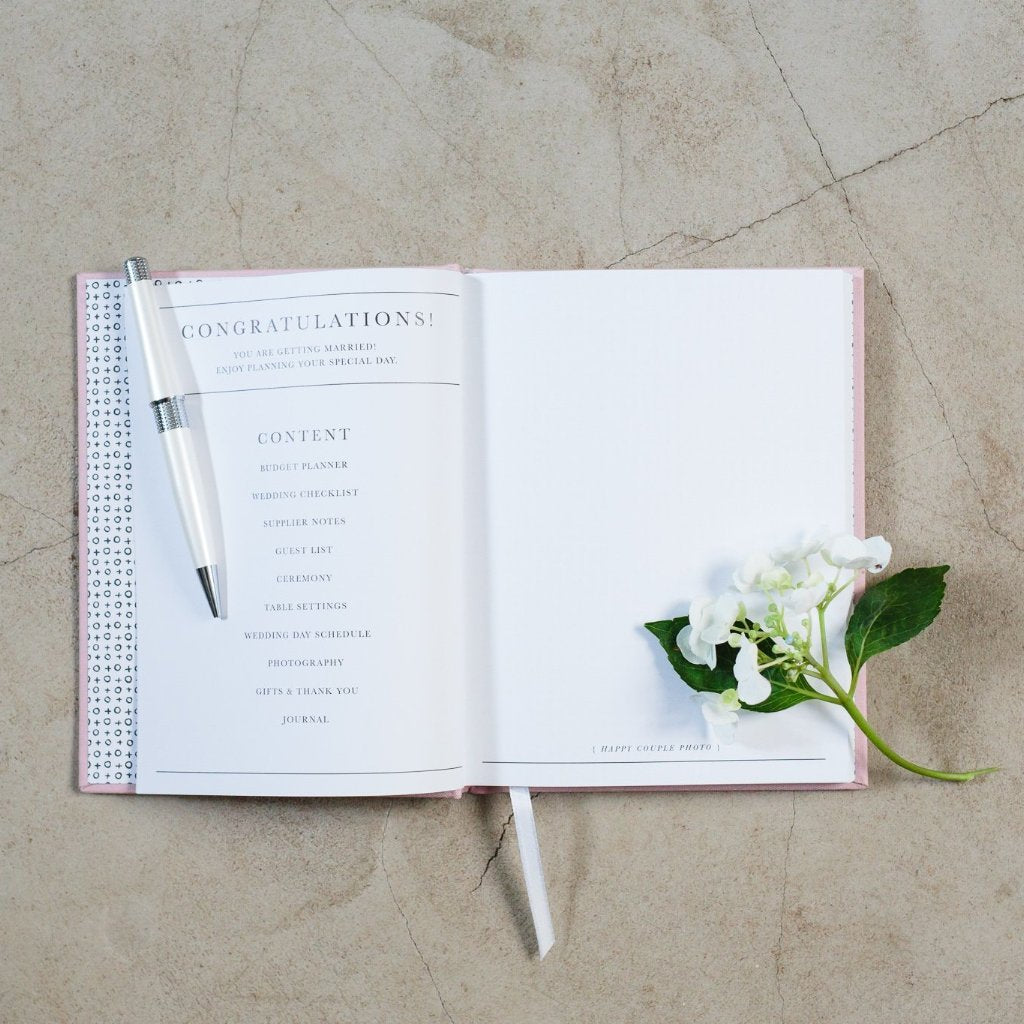 564c5f9290fc2 Wedding Journal, Together Planning Our Day