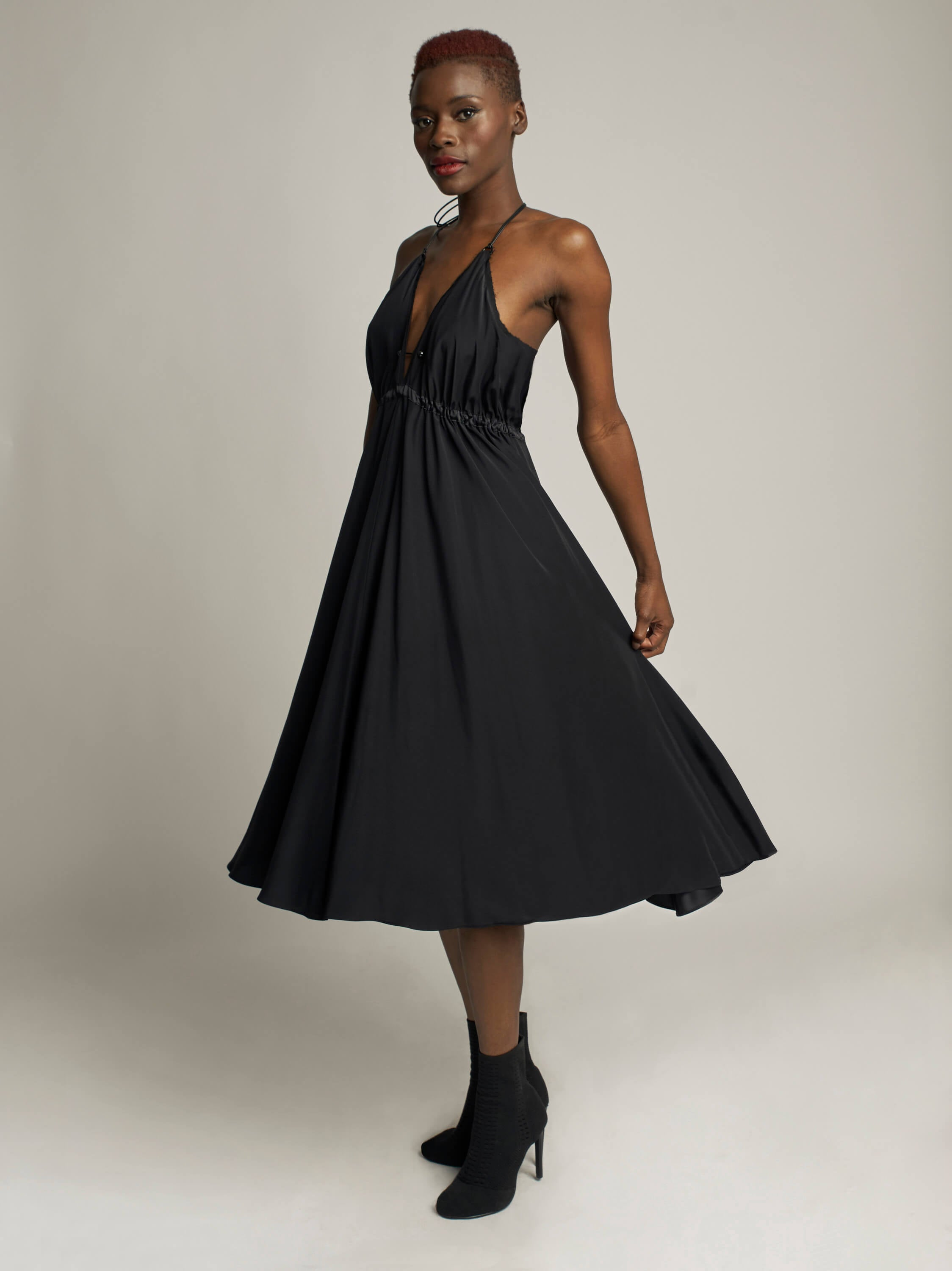 Coquette Dress, Black - Jody Tjan