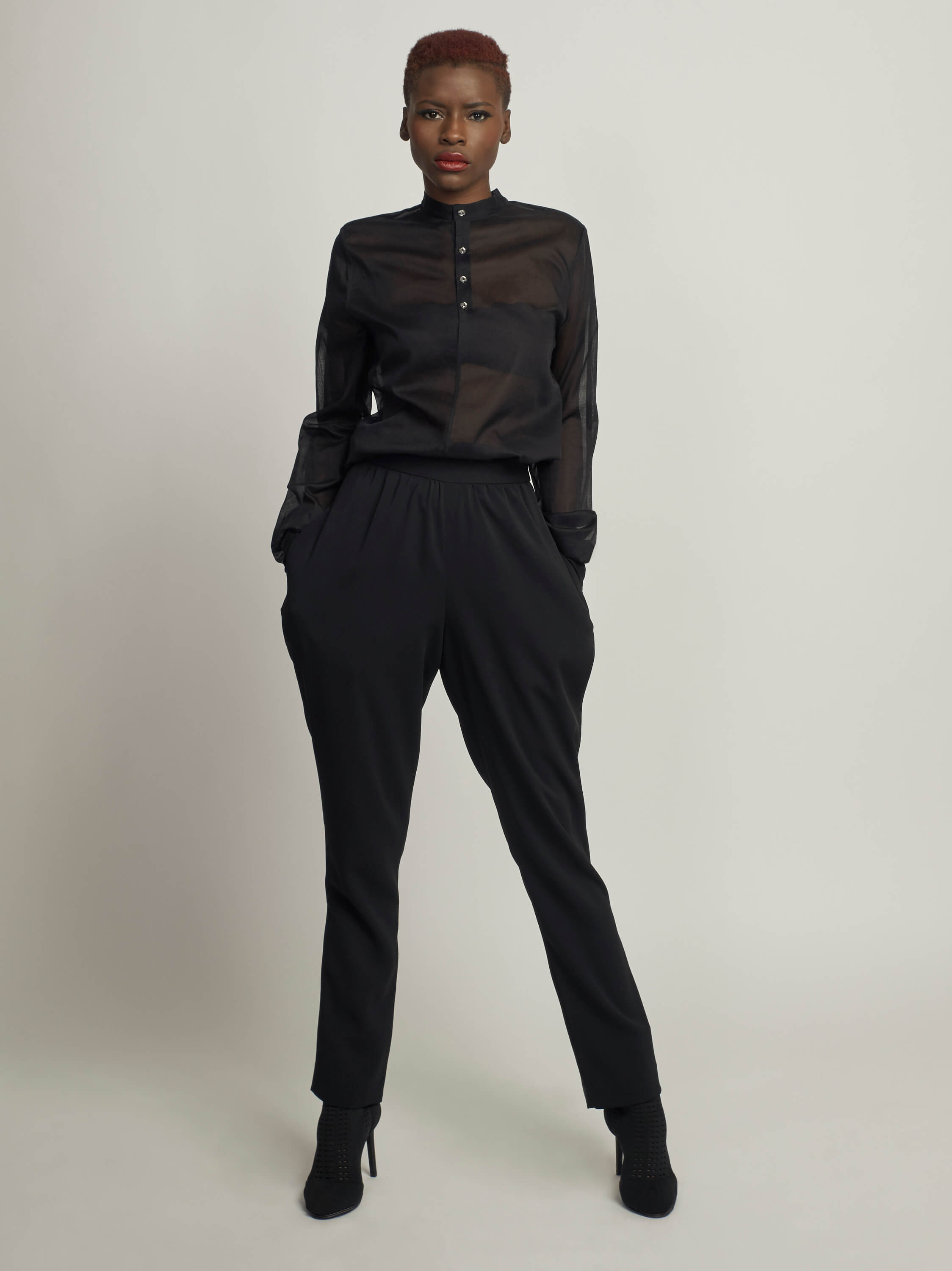 Off-Duty Jodhpurs, Black - Jody Tjan