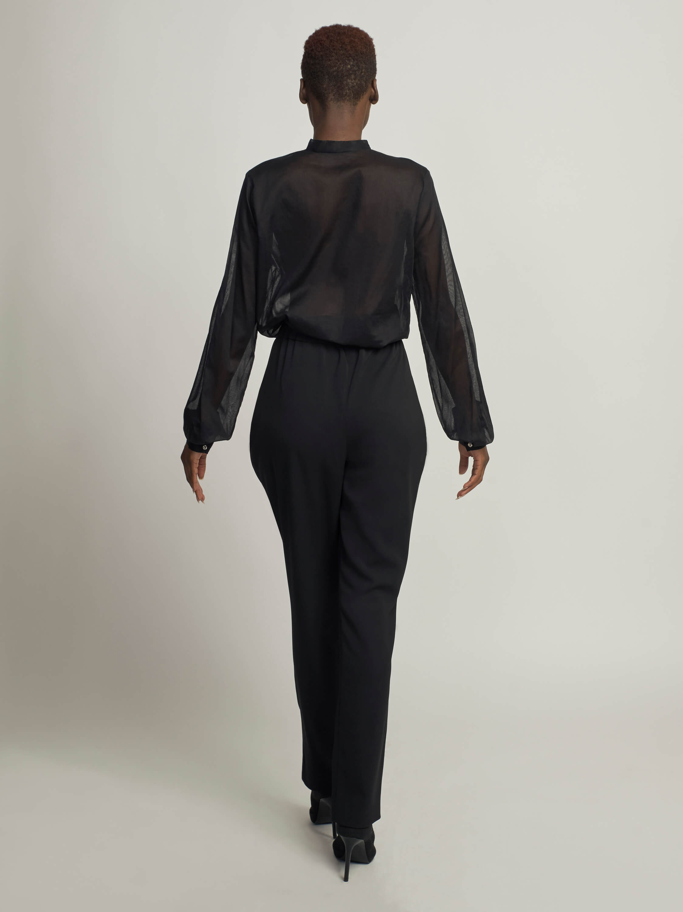 Lucent Blouse, Black - Jody Tjan
