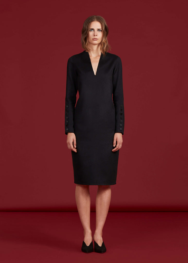 Catherine Dress, Black - Jody Tjan