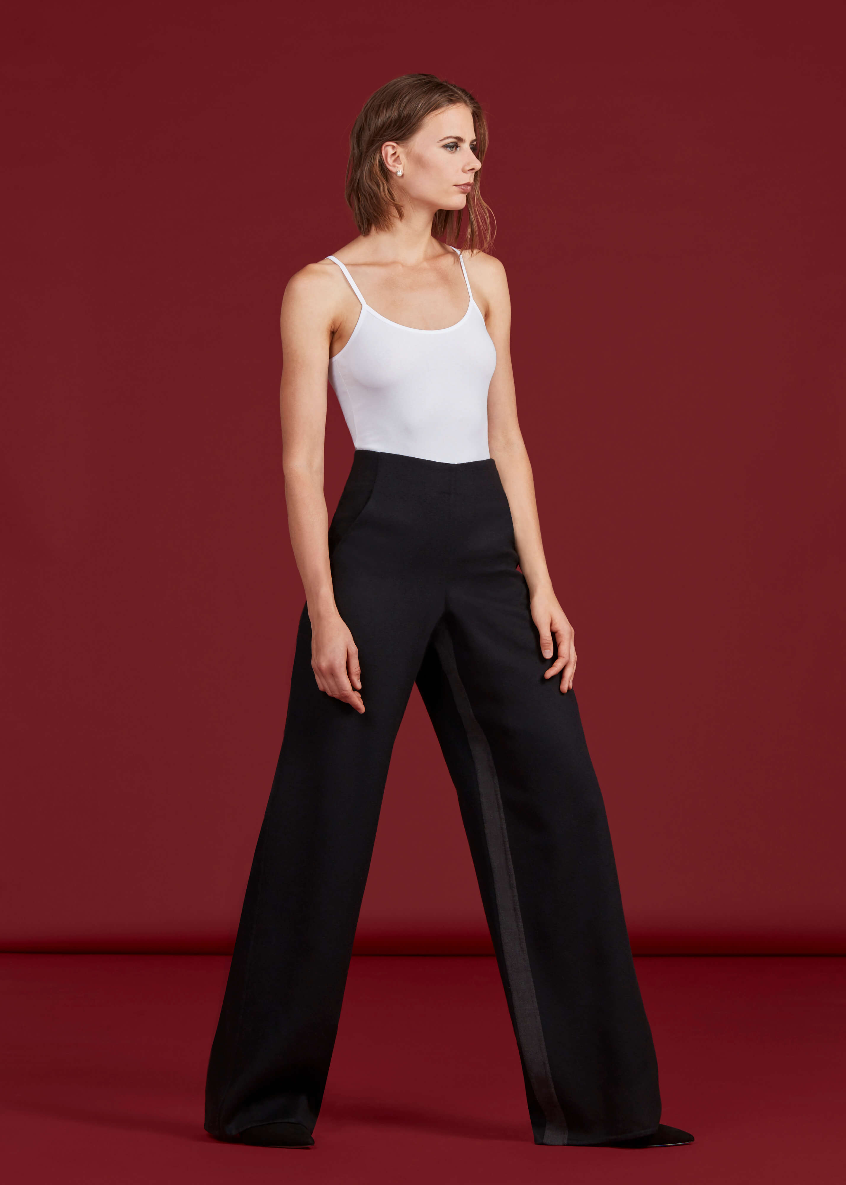 Faye Pants, Black - Jody Tjan
