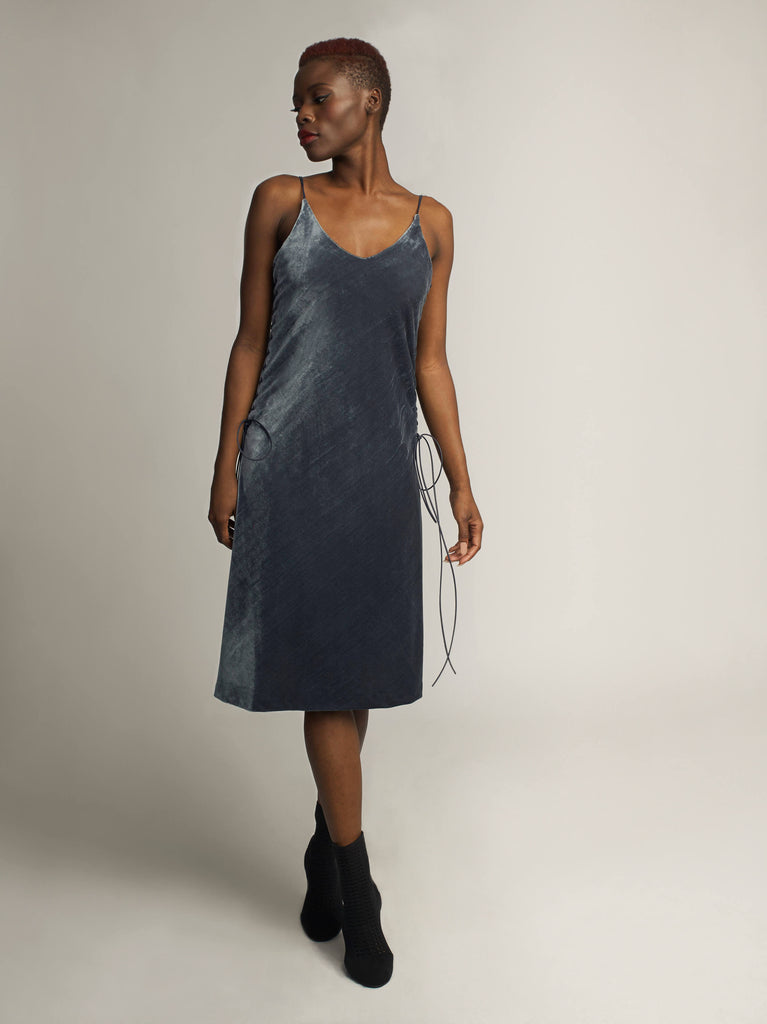 Stealth Dress, Slate Grey - Jody Tjan
