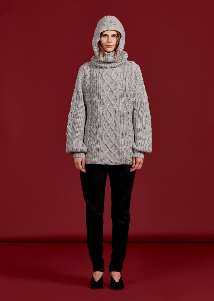 McQueen Sweater, Steel Grey - Jody Tjan