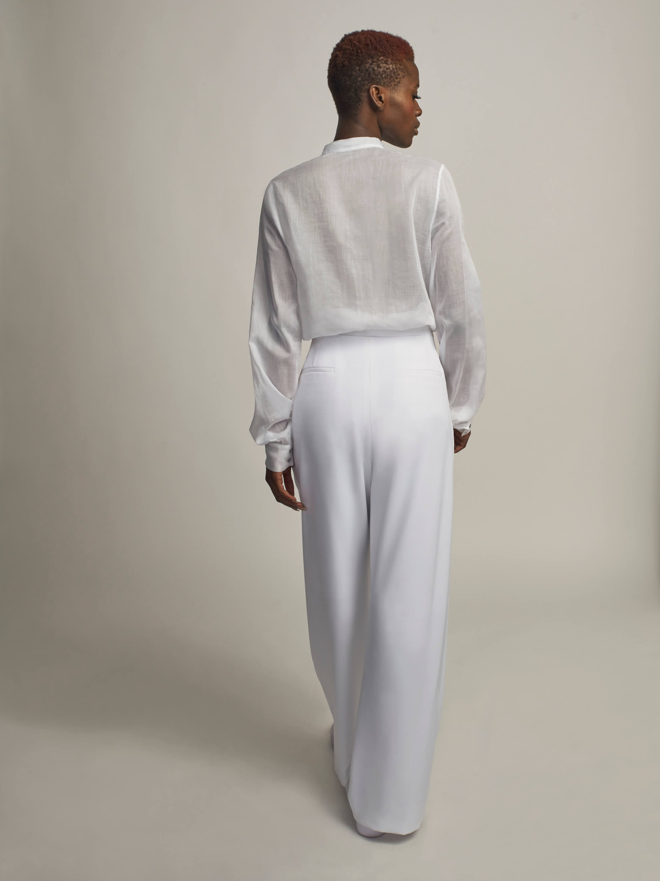 Fête Pants, Optic White - Jody Tjan