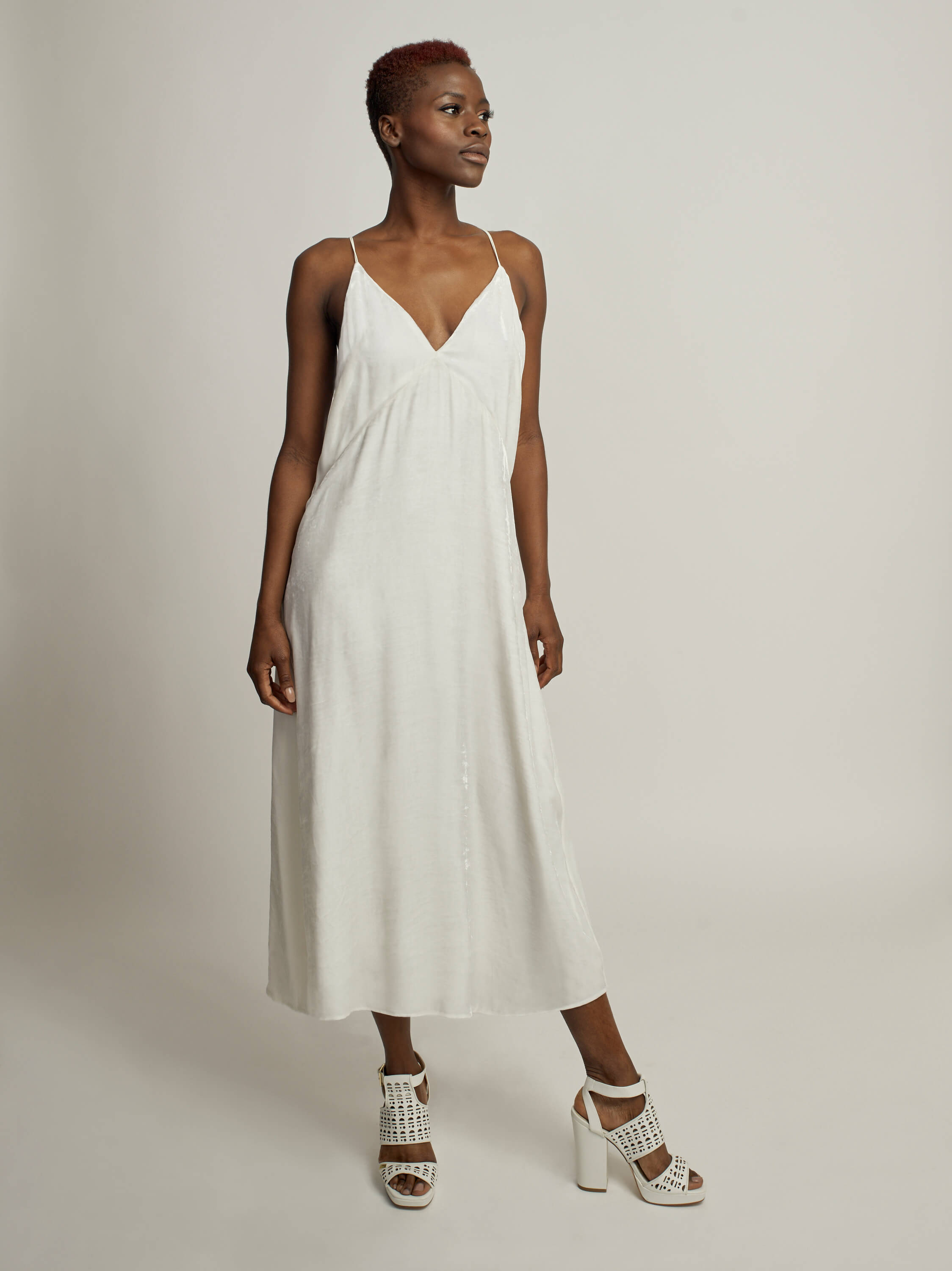 Amoré Dress, Ivory - Jody Tjan