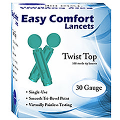 Home Aide Easy Comfort Lancets 30g 100 box