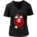 Philadelphia Phillies Snoopy And Woodstock Resting Together MLB Shirts-Snoopy Facts