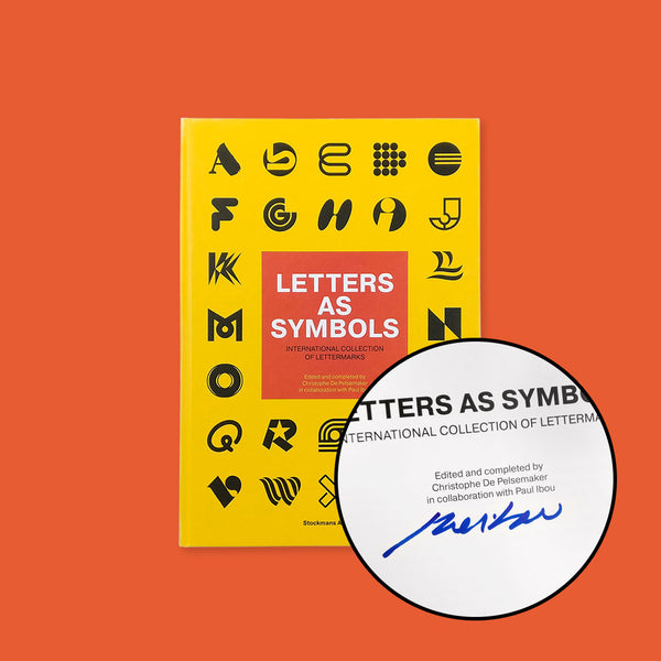 SIGNED by Paul Ibou - Letters As Symbols