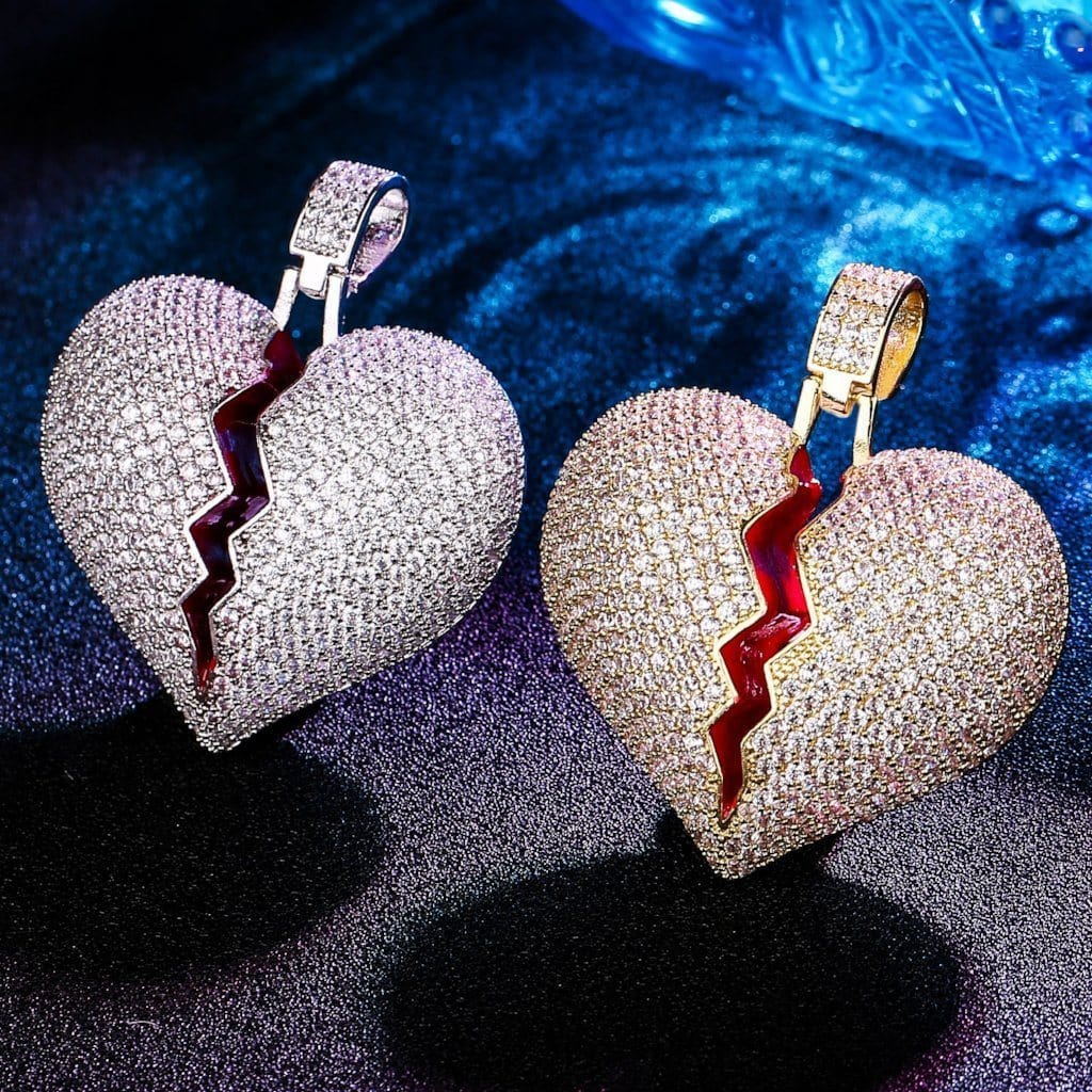 heart-break pendant
