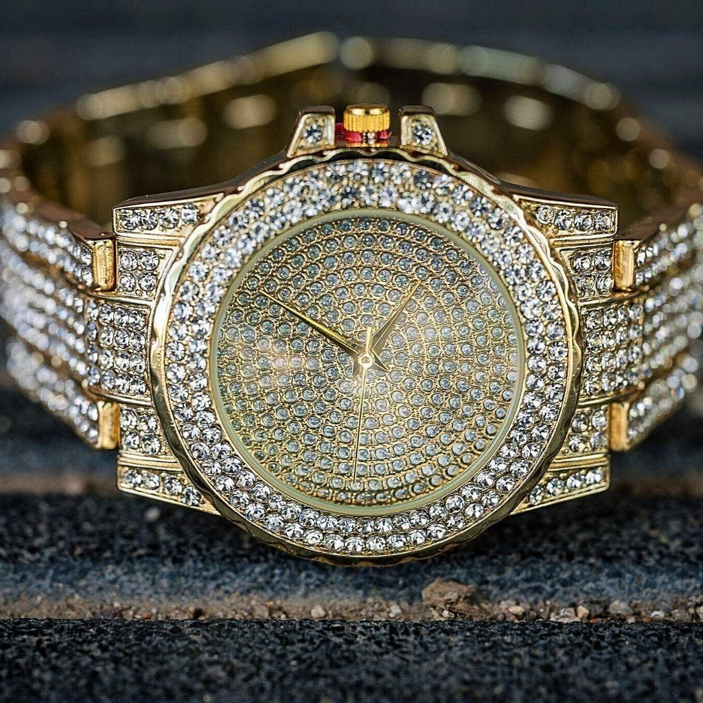 Iced-Out Watch