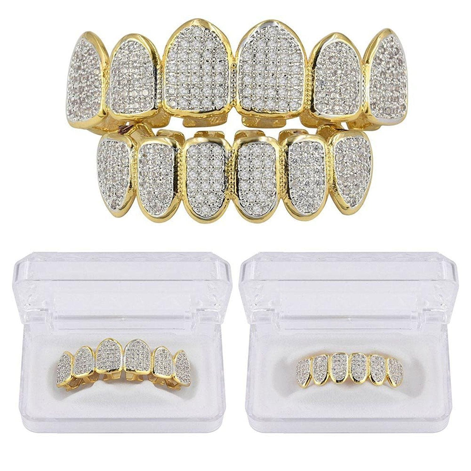 18k Lab Diamond Grill - stndrdz
