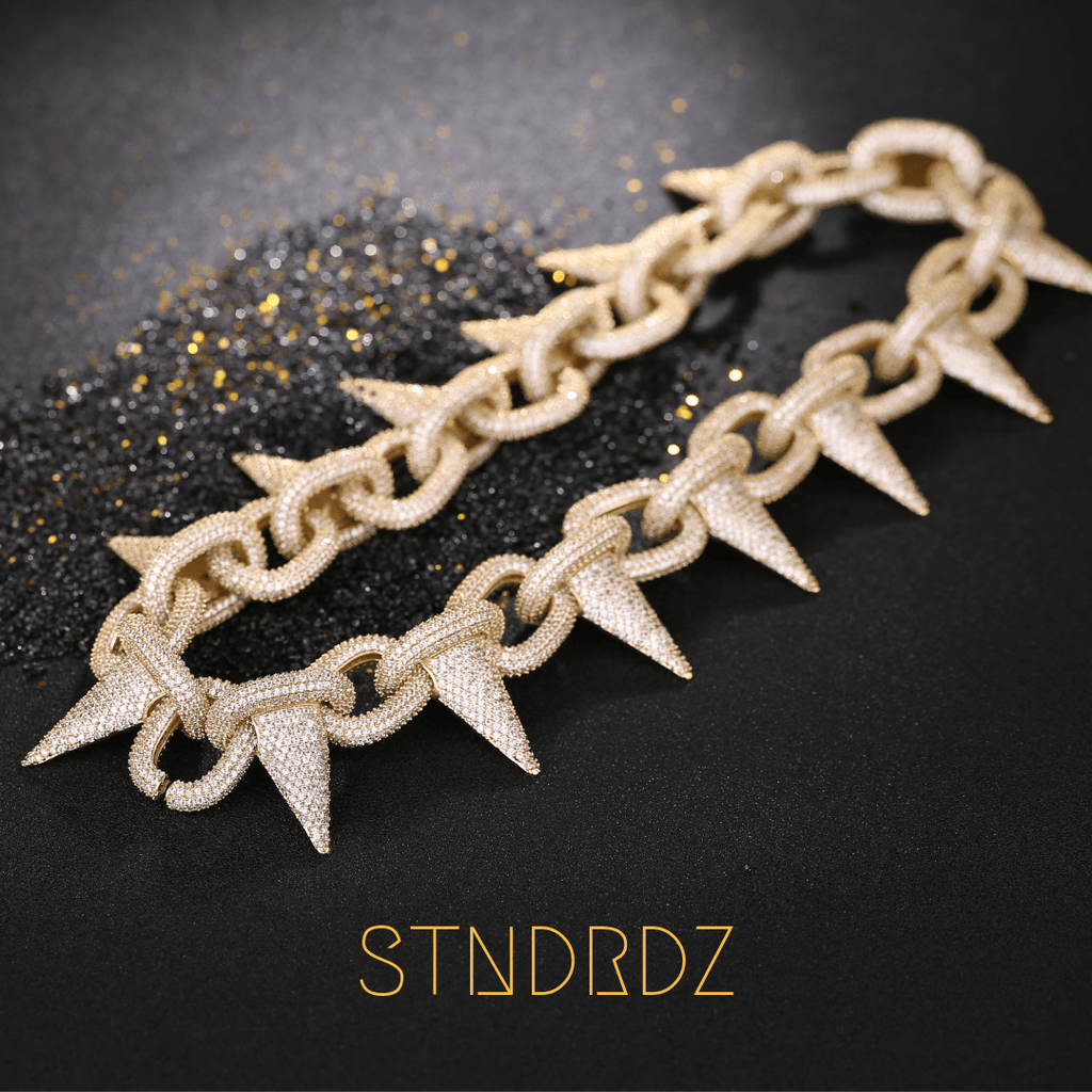 Cuban Link Chain For Sale >> Gold Chains For Men | Cuban Link Choker Necklace | Tennis ...