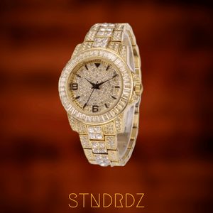 Iced Baguette Timepiece