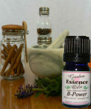 b poweressential oil This blend helps                               to increase mental capacity, mental                               clarity and reduce brain fog.