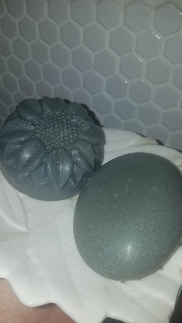 Activated Charcoal Salt Soap