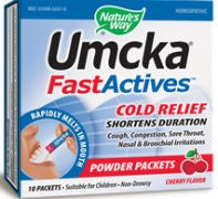 Umcka FastActives Cherry ColdCare