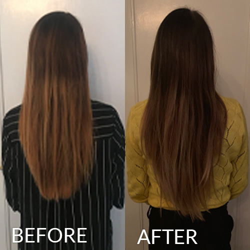 hairlust hair gummies before and after
