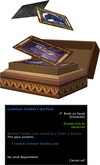 Buy Neverwinter Common Tarokka Card Pack at We Grind Games