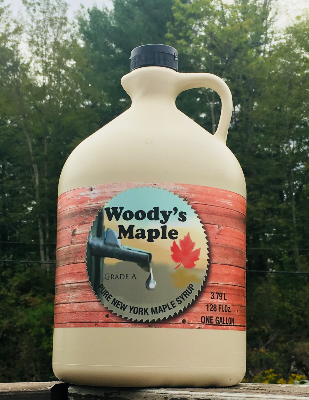 Pure New York Maple Syrup (Grade A) - Woody's Maple
