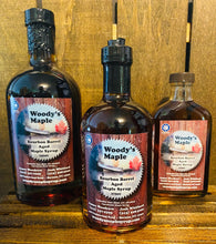Bourbon Barrel Aged Maple Syrup (Glass)